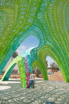 Pleated Inflation _ MARC FORNES / THEVERYMANY