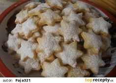 Tvarohovo-vanilkové hvězdičky recept - TopRecepty.cz Christmas Baking, Christmas Cookies, Czech Desserts, Czech Recipes, Meringue Cookies, Macaroons, Cookie Recipes, Food To Make, Sweet Tooth