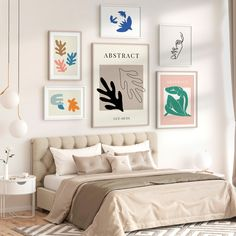 Gallery Wall Bedroom, Inspirational Wall Art, Typography Poster, Abstract Art, Art Prints, Interior Design, House Styles, Home Decor, Design Interiors