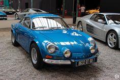 Alpine A110 exposée à la Cité de l'Automobile, Collection #Schlumpf, de Mulhouse. Article original : http://newsdanciennes.com/2015/07/16/on-a-teste-pour-vous-la-collection-schlumpf/