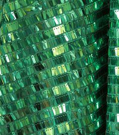SUEDEsays Fabric- Deco Sequin Fringe JadeSUEDEsays Fabric- Deco Sequin Fringe Jade,
