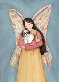 Shih Tzu in Angels Arms by Lynch