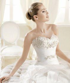 Coleção #Noivas La Sposa 2014 modelo IMOGENE #casarcomgosto