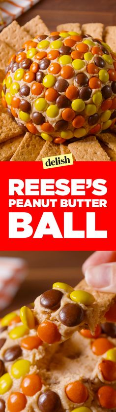 gets a party started like a Reese's peanut butter ball. Get the recipe on .Nothing gets a party started like a Reese's peanut butter ball. Get the recipe on . Dessert Dips, Köstliche Desserts, Delicious Desserts, Dessert Recipes, Yummy Food, Fudge Recipes, Candy Recipes, Snack Recipes, Dinner Recipes