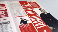Rediseño de la revista Pymes en base a la grafica constructivista.Trabajo para la materia Tipografia II Catedra Gaitto, FADU, UBA, 2012.
