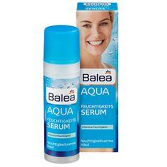 Erfrischt erschöpft aussehende und feuchtigkeitsarme Haut. Die Haut fühlt sich dadurch frische und fester an durch eine Mischung aus Hyaluronsäure und Vitamin E. Preis 2,95 € für 30 ml #BaleaBadvergnügen