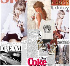 """Taylor Swift for Diet Coke #45 Udobuy"" by megi32 ❤ liked on Polyvore"