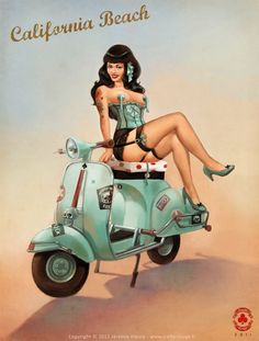 Vespa on Art