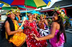 A Cook Islands group.