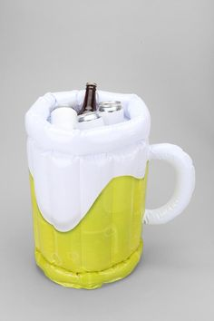 Inflatable Beer Bucket -- Need. Summer. Now. #urbanoutfitters    We'll need something like this for the summer!