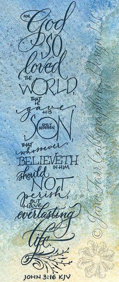 John Bible Verse for Easter Bible Scriptures, Bible Quotes, Jean 3 16, Adonai Elohim, Favorite Bible Verses, Lord And Savior, Spiritual Inspiration, Christian Inspiration, Spiritual Quotes