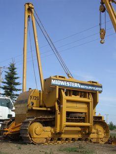 Side Boom construction equipment | Caterpillar D7G LGP Side Boom larger photos