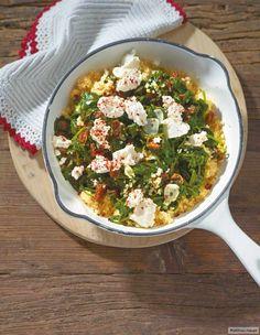 Spinat-Bulgur-Gemüse Rezept - ESSEN & TRINKEN