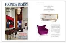 Florida Design magazine - Jazz sideboard by Mambo Unlimited Ideas #Florida #sideboard #Mambo #press