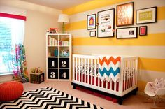 Bright, Playful Nursery