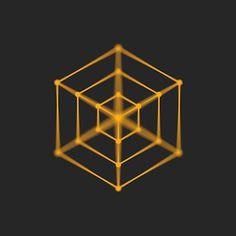 Hypnotische geometrische GIFs von Florian de Looij