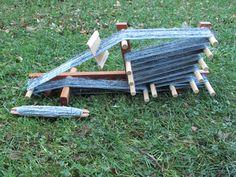 Egil's Inkle Loom by Woodstuffs of NC - $90.00 - so elaborate. I've always be interested in weaving.