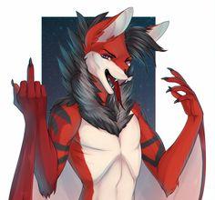 Shadow_fanatic by Bardju on Fur Affinity