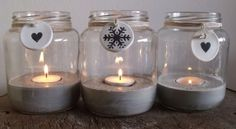Jar tea light