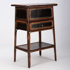 Bamboo Anglo-Indian Work Cabinet