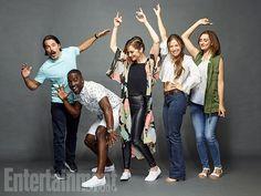 Wynonna Earp Comic Con cast photo - Entertainment Weekly