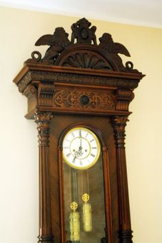 Real rarity Gustav Becker 2 weights   wall clock by DecoMatt, zł9000.00