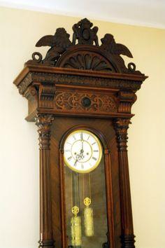 Real rarity Gustav Becker 2 weights   wall clock by DecoMatt, zł9000.00