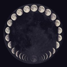 "The pull of the moon ""the moon reminds us that everything is constantly changing. Nothing is in stasis, there is always an ebb & a flow. A coming into fullness and a letting go. Each breath we take mirrors this constant."" (Melani Marx)"