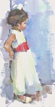 September was a wonderful month, with of course, the magical painting trip to Provence, at the lovely French country home of Ann Huff, call. Painting People, Figure Painting, Painting & Drawing, Magical Paintings, Paintings I Love, French Paintings, Watercolor Portraits, Watercolor Paintings, Watercolour