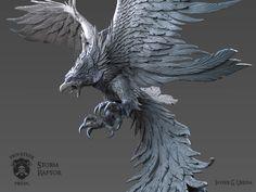 ArtStation - Storm Raptor, Javier Ureña
