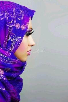 beautiful scarf mashaAllah