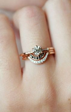 Timeless Diamond Rings / anna sheffield