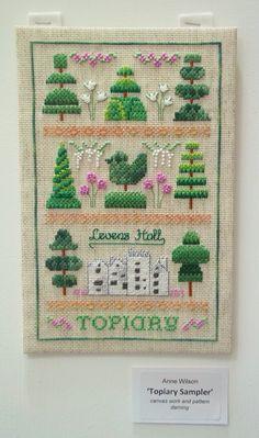 Anne's 'Topiary Sampler'