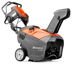 Product image of the Husqvarna ST121E snow thrower.