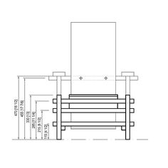 Un an lisis formal de la silla mondrian hacia un nuevo for Planos silla ergonomica pdf