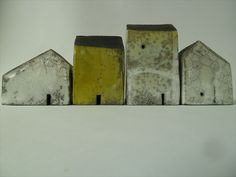 Rowena Brown at Craftfinder - bringing it home - Maker Image - Group of four houses