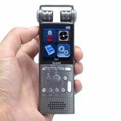 Professional Voice Activated Digital Audio Voice Recorder USB Non-Stop Recording - Video Tech Gadgets Usb, Thing 1, Voice Recorder, Audio Sound, Built In Speakers, Digital Audio, Perfect Makeup, Noise Cancelling, Tv Videos