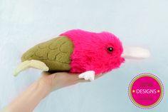 Plink die Platypus Meerfisch Dame von silberknöpfchen auf DaWanda.com