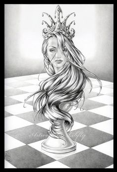 Chess - The Queen by Libfly on DeviantArt