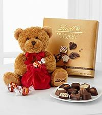 Lindt Loveable Holiday Bear with Swiss Luxury Collection - Best