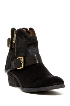Dalis Genuine Calf Hair Ankle Boot by Donald J Pliner on @nordstrom_rack
