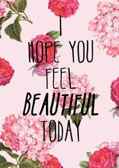 Feel beautiful #quotes  Come to Skinthetics Laser Hair Removal  Skin Care Center in West Bloomfield, MI for all of your personal pampering needs!  Call (248) 855-6668 to schedule an appointment or visit www.skintheticscenter.com to find out more information!