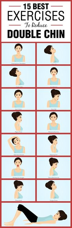 15 Best Exercises To Reduce Double Chin | Beauty Bazar