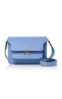 Textured-Leather Shoulder Bag   Moda Operandi