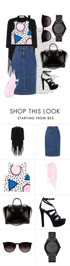 """""""Mink Pink"""" by mariekantharidis on Polyvore featuring Soaked in Luxury, John Lewis, Givenchy, GUESS, Ray-Ban, Michael Kors, Summer, CasualChic, SpringStyle and minkpink"""