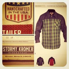Stormy kromer... American made in Milwaukee since 1903.  Quality and unique