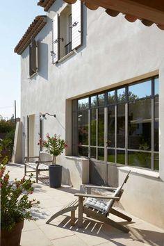 23 Ideas For Steel Door Design Metals Window Architecture Details, Interior Architecture, Renovation Facade, Door Design, House Design, Steel Doors And Windows, Archi Design, Facade House, House Facades