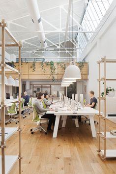 Lugares perfectos para trabajar en equipo. #productividad