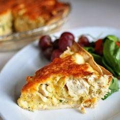Chicken Quesadilla Pie