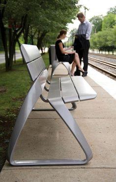 Metro40 Street Furniture by BMW Group DesignworksUSA